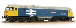 "Bachmann 31-665 BR Class 47, No.47.711 ""Greyfriars Bobby"", Large Logo Blue [NOT YET RELEASED]"